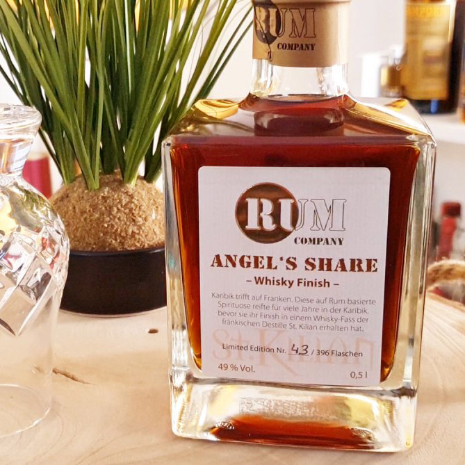 Angels Share - Rum Company