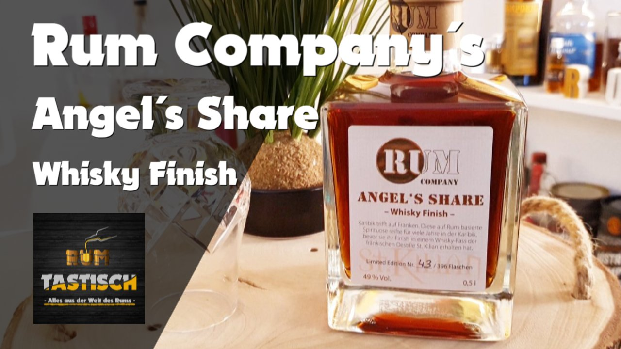 Read more about the article Angel´s Share (Rum Company) 49% | Rum-Info & Tasting 🥃 Rum, der fast vom Himmel viel…