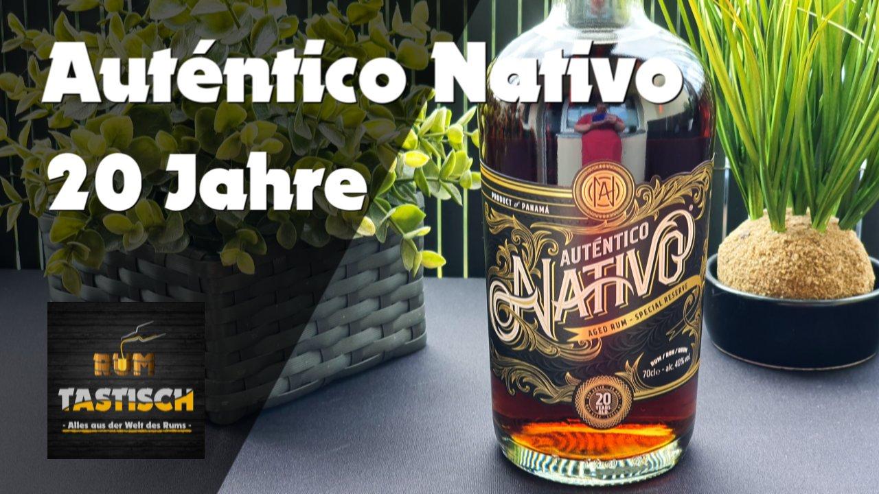 Read more about the article Auténtico Nativo 20 Jahre 40% | Rum-Info & Tasting 🥃 Exzellente Qualität in luxuriösem Design