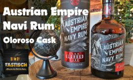 Austrian Empire Navy Reserve Rum – Oloroso Cask 49,5% | Rum-Tasting 🥃 Sherry Finish at it´s best! 🔊