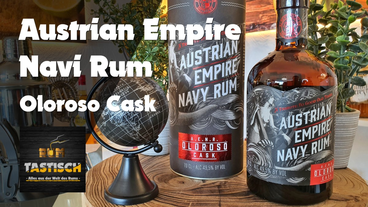 You are currently viewing Austrian Empire Navy Reserve Rum – Oloroso Cask 49,5% | Rum-Tasting 🥃 Sherry Finish at it´s best! 🔊