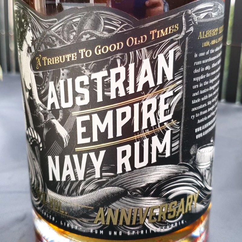 Austrian Empire Navy Rum - Anniversary