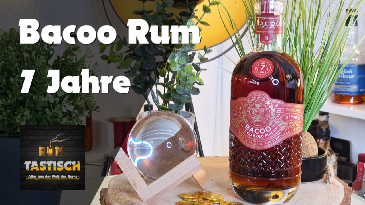 """You are currently viewing Bacoo Rum 7 Jahre 40% 