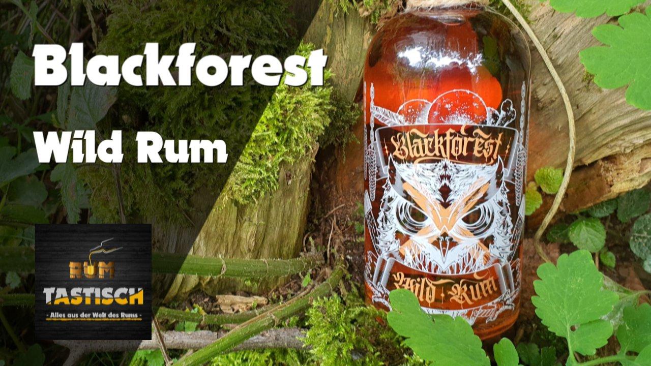 Read more about the article Blackforest Wild Rum 42% | Rum-Infos & Tasting 🥃 Weltneuheit aus dem Schwarzwald 🔊