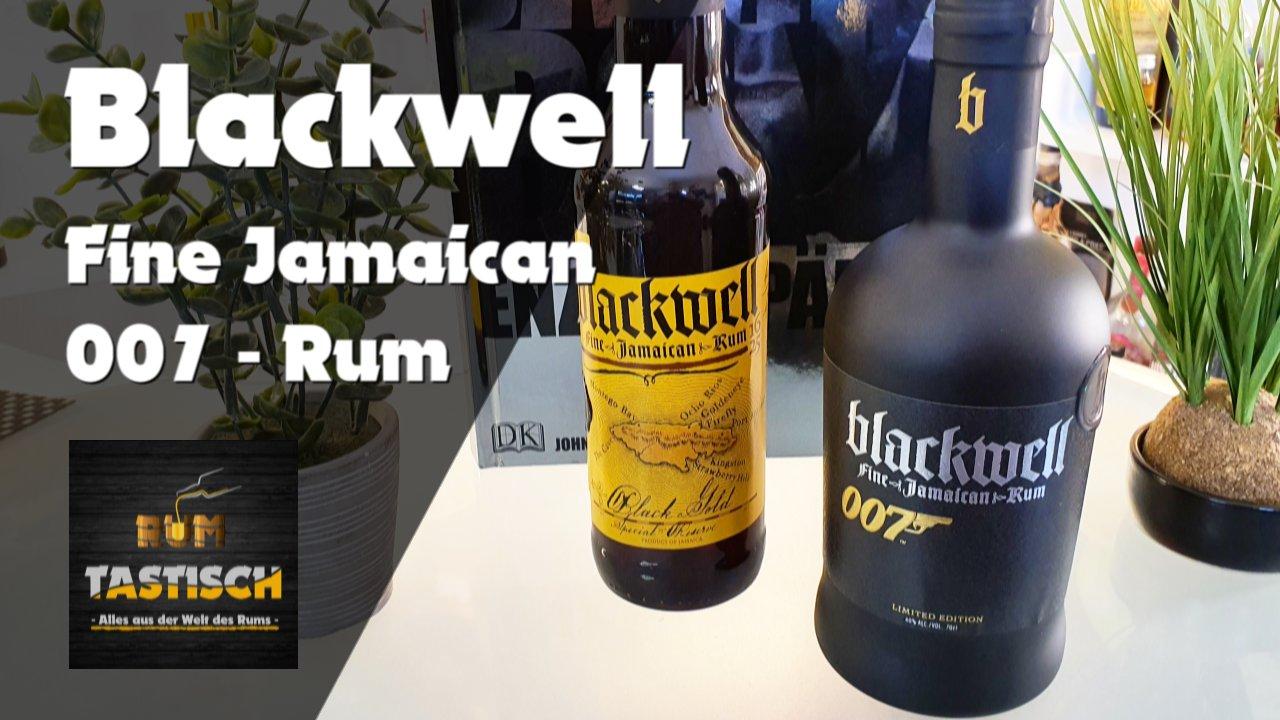 Read more about the article Blackwell 007 – Fine Jamaican Rum 40% | Rum-Info & Tasting 🥃 Nicht geschüttelt, nicht gerührt!