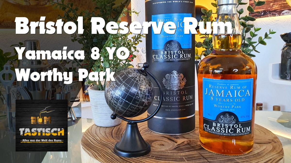 Read more about the article Bristol Reserve Rum of Jamaica – Worthy Park – 8YO 43% | Rum-Tasting 🥃 Der Name sagt alles!