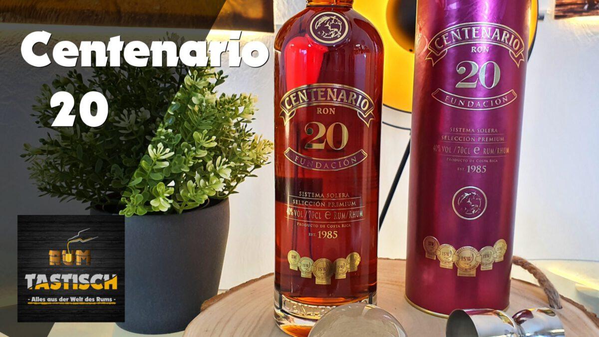 "Read more about the article Centenario 20 – Fundacion 40% | Rum-Tasting 🥃 ""Der Süße"" in der Familie"