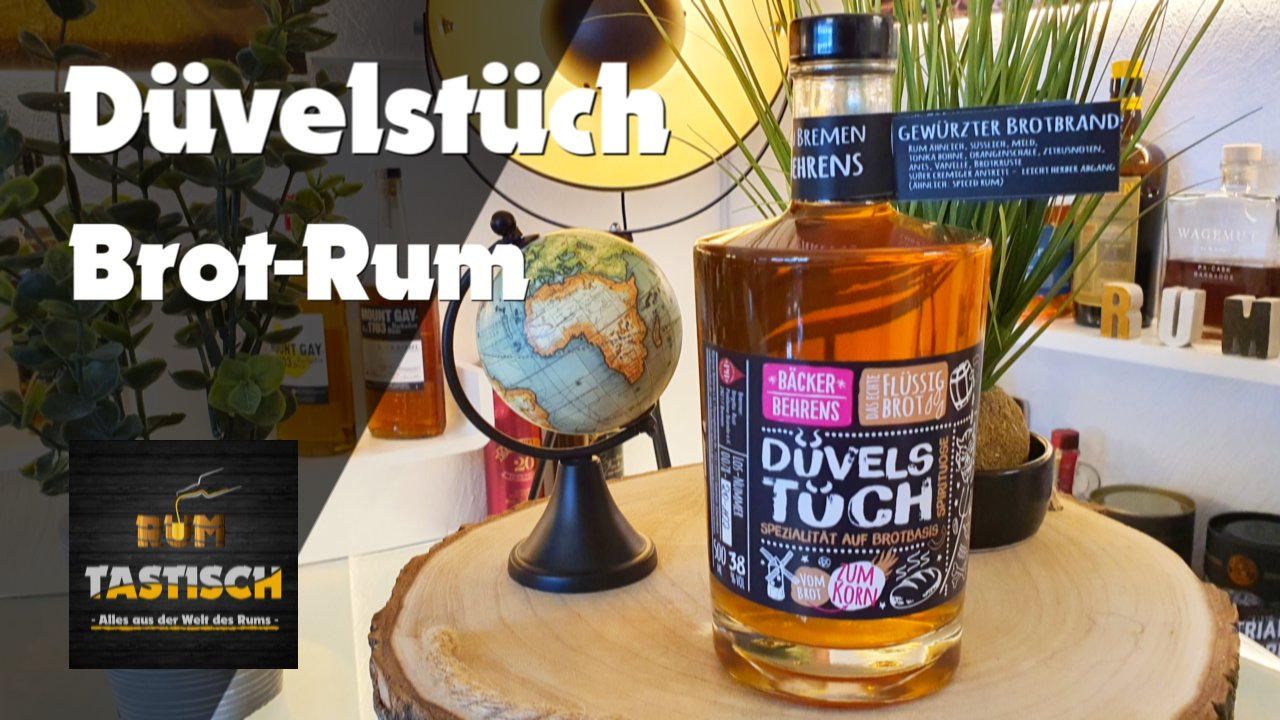 Düvelstüch – Gewürzter Brotbrand | Rum-Infos & Tasting 🥃 Rum aus Brot – geht das?