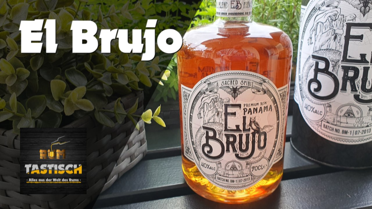 Read more about the article El Brujo – Premium Panama Blended Rum 40% | Rum-Tasting 🥃 Rum vom Hexenberg