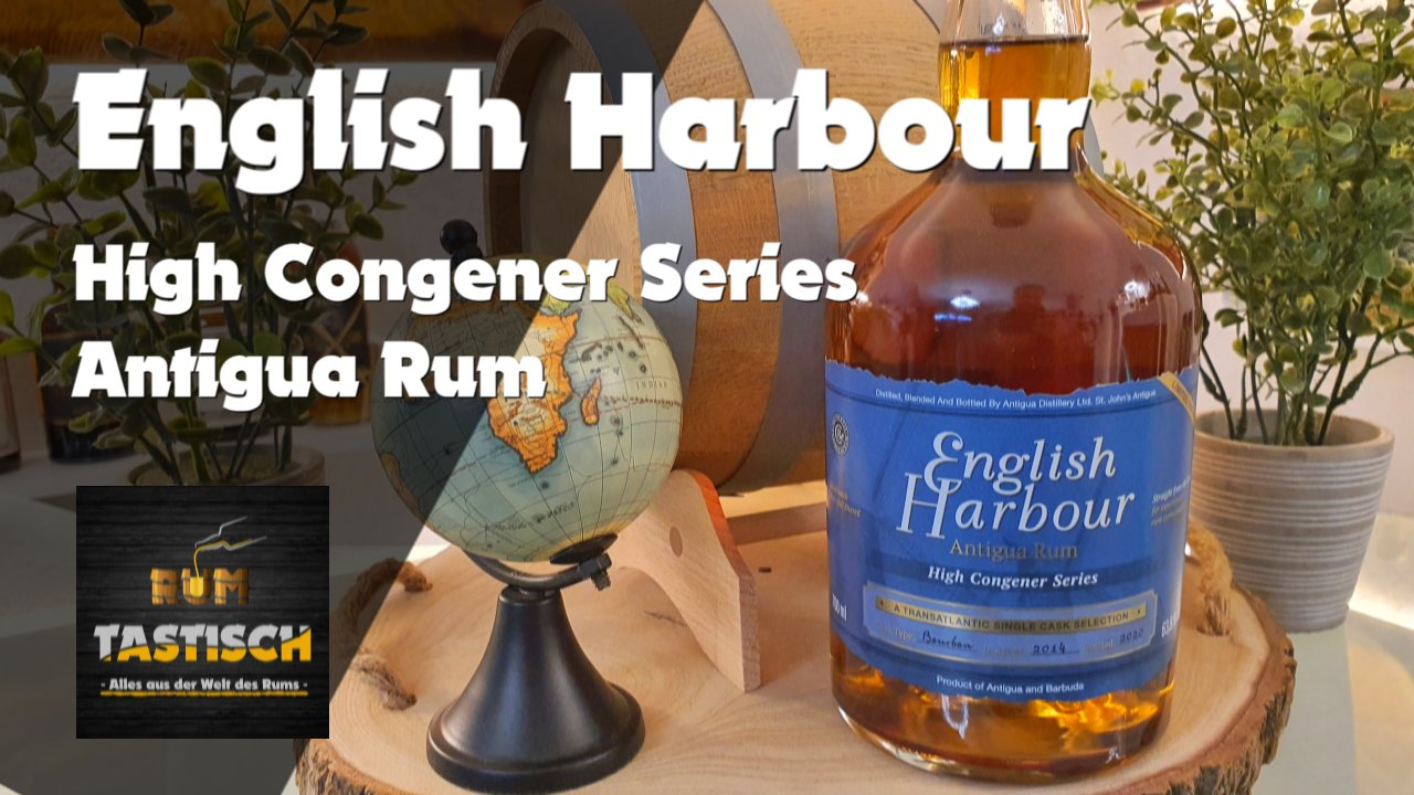 English Harbour – High Congener Series 2014/2020 – Limited Edition | Rum-Info & Tasting 🥃 Rum, nur Rum… 🔊