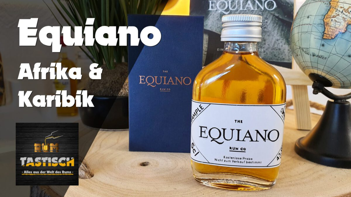 Read more about the article Equiano African-Caribbean Rum | Rum-Tasting 🥃 Karibik trifft auf Afrika!