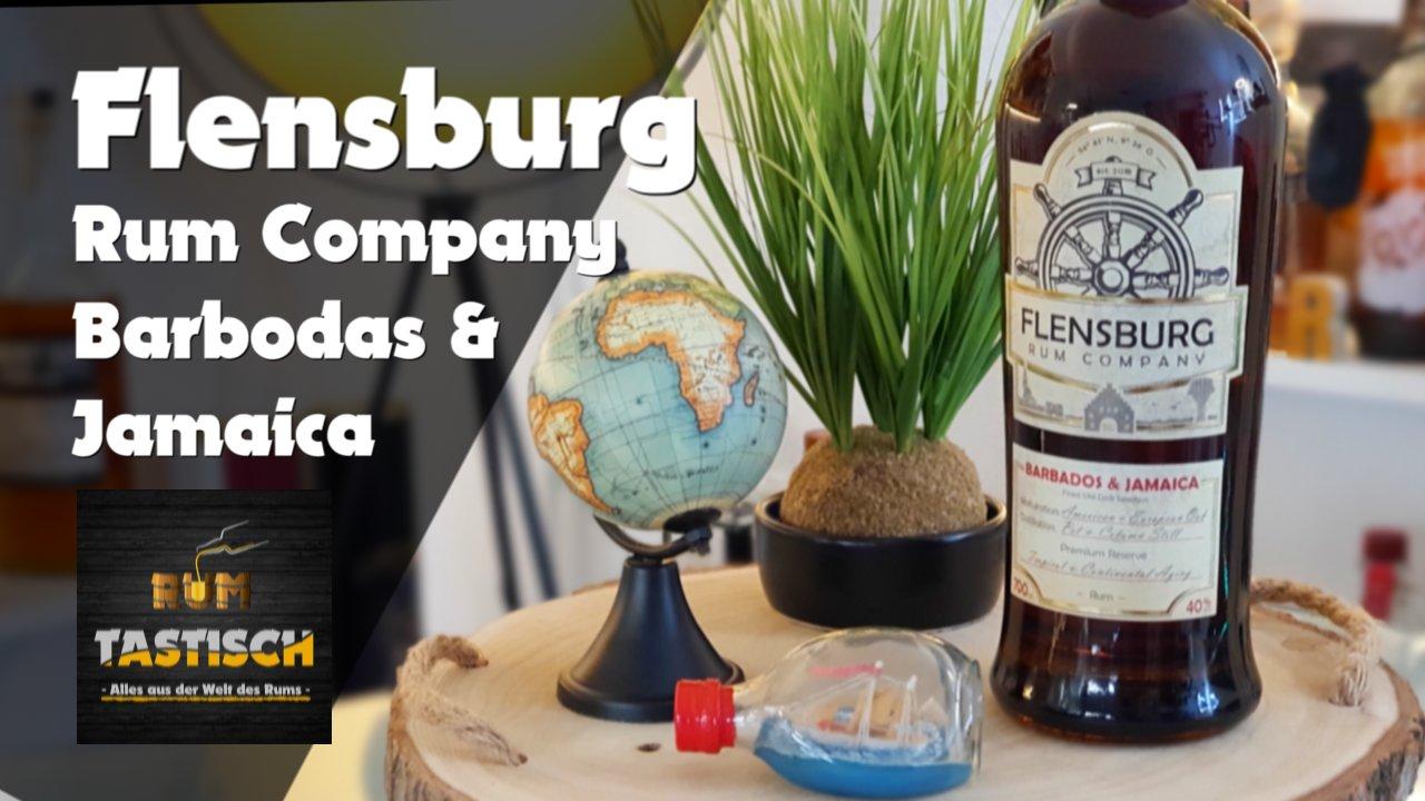 Read more about the article Flensburg Rum Company – Barbados & Jamaica 40% | Rum-Info & Tasting 🥃 Treffen der Traditionen 🔊