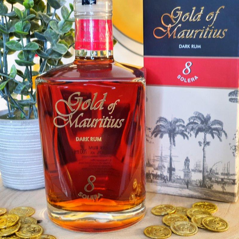 Gold of Mauritius Dark Rum Solera 8