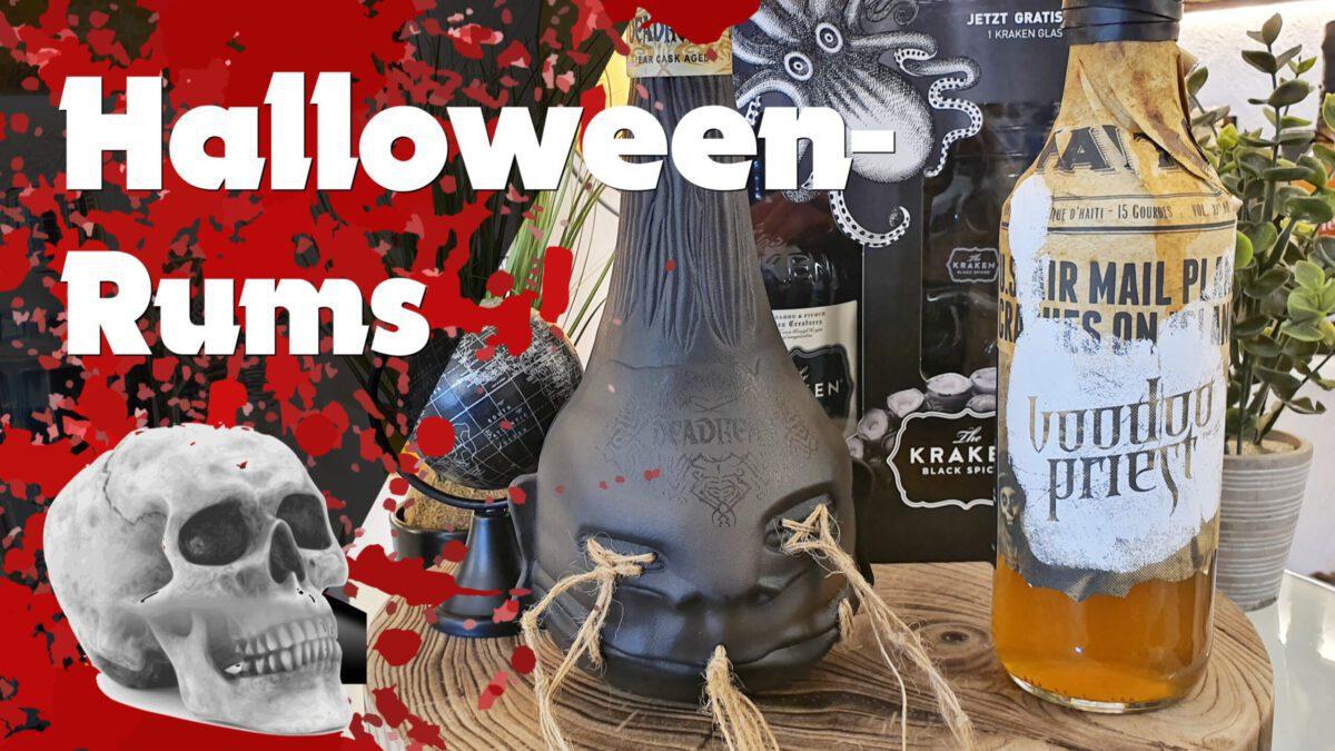 Read more about the article Die 5 spannendsten Rums mit coolen Hintergrund-Storys von 20,- bis 45,- Euro 🎃 Halloween-Special