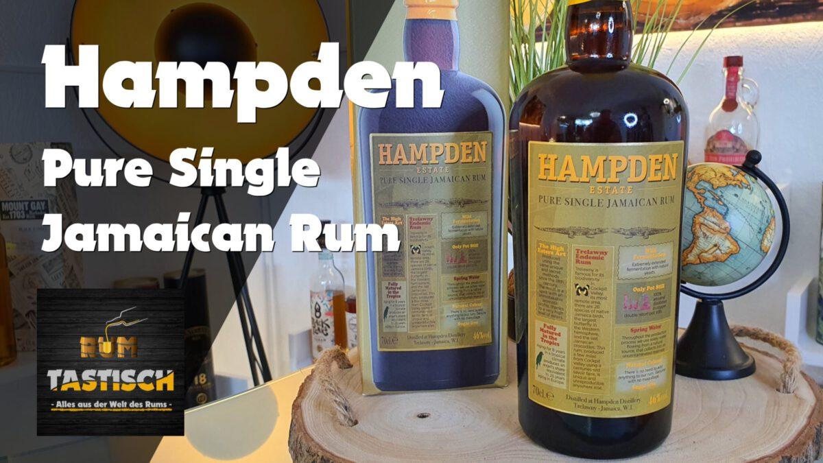 Read more about the article Hampden Estate Pure Single Jamaican Rum 46% | Rum-Tasting 🥃 Der beste Jamaiker-Rum?