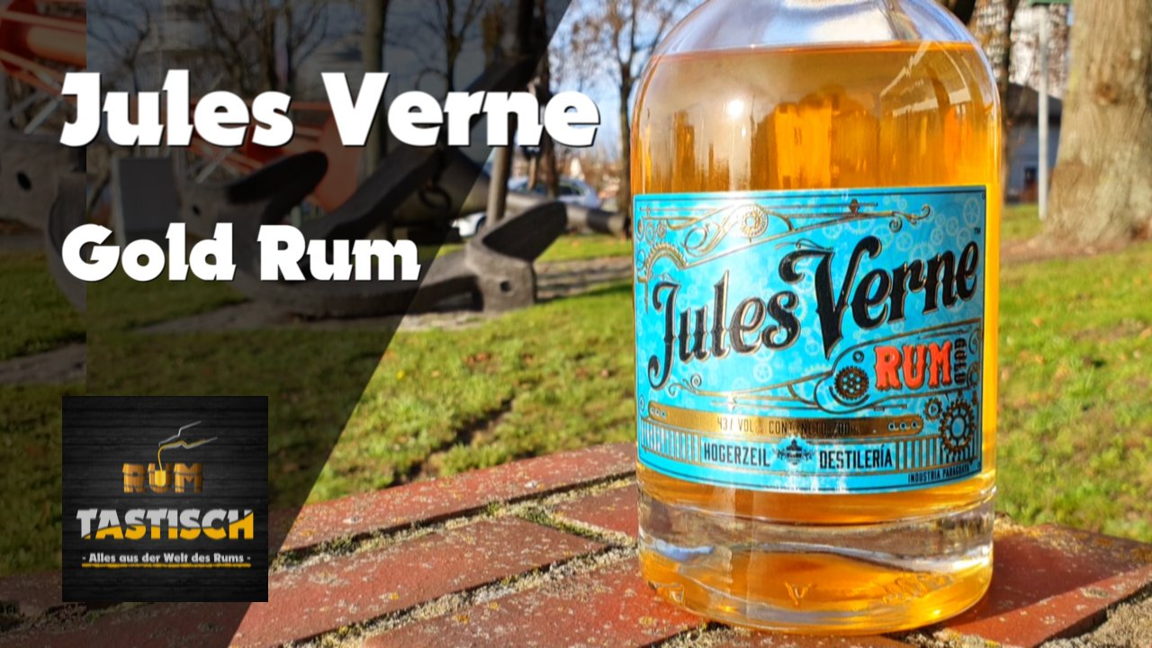 Read more about the article Jules Verne Gold 43% | Rum-Infos & Tasting 🥃 Small Batch Handcrafted Rum 🔊