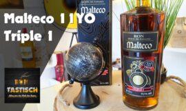 Malteco 11YO Triple 1 Rum 55,5% | Rum-Tasting 🥃 111 Proof – nach 11 Jahren – aus 2300m Höhe!