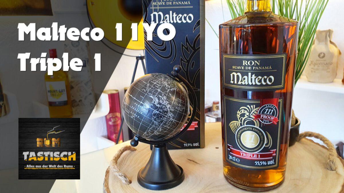 Malteco 11YO Triple 1 Rum | Rum-Tasting 🥃 111 Proof – nach 11 Jahren – aus 2300m Höhe!