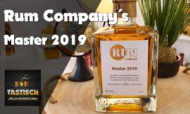 Master 2019 (Rum Company) 48% | Rum-Info & Tasting 🥃 Das Beste aus Jamaica & St. Lucia 2019 🔊