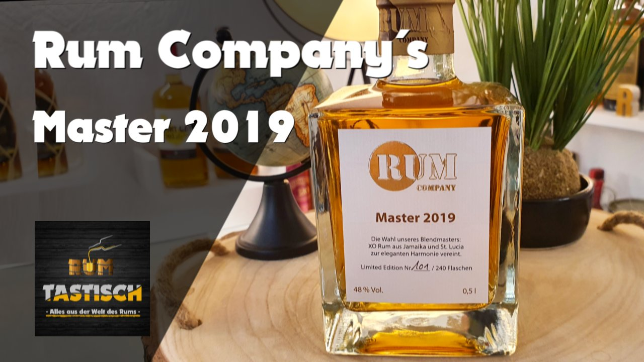 Read more about the article Master 2019 (Rum Company) 48% | Rum-Info & Tasting 🥃 Das Beste aus Jamaica & St. Lucia 2019 🔊