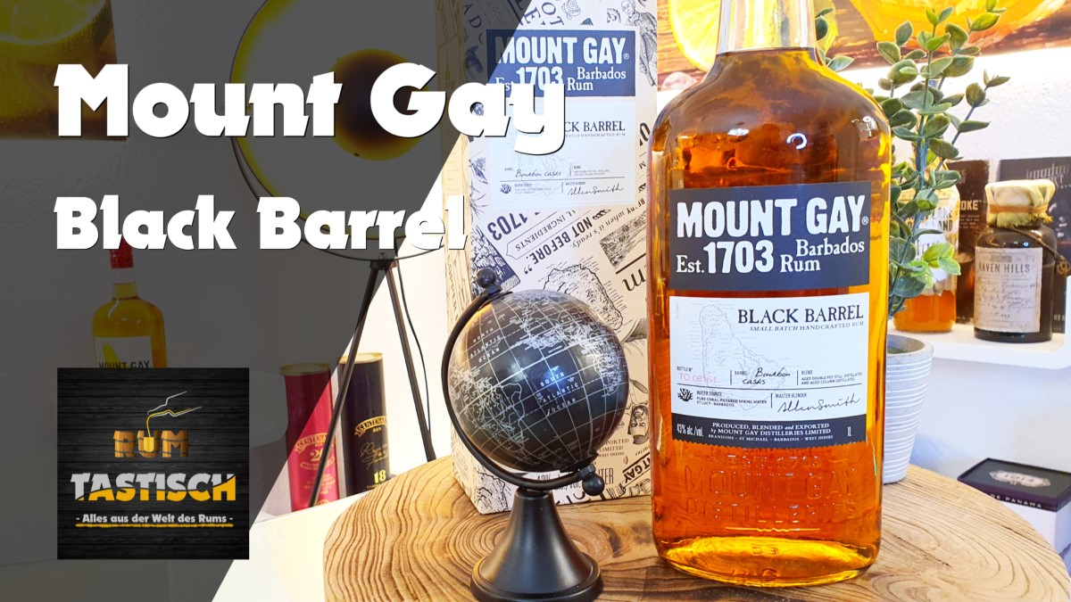 Read more about the article Mount Gay Rum 1703 Black Barrel 43% | Rum-Tasting 🥃 Small Batch Handcrafted Rum 🔊