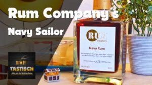 Navy Sailor - Rum Company