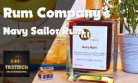 Navy Sailor Rum (Rum Company) | Rum-Info & Tasting 🥃 Rum wie von der British Royal Navy!