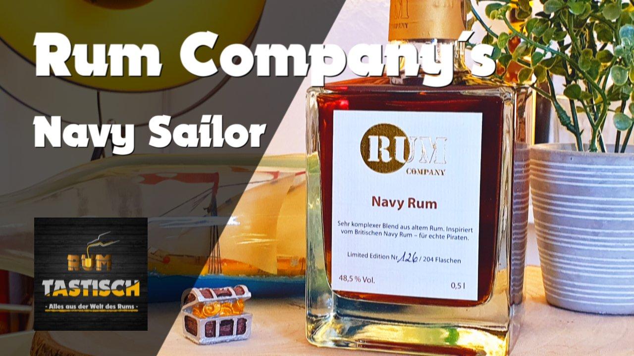 Read more about the article Navy Sailor Rum (Rum Company) | Rum-Info & Tasting 🥃 Rum wie von der British Royal Navy!