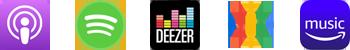 Podcasts Logo Reihe