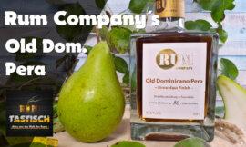Old Dominicano Pera 🍐 Birnenfass Finish (Rum Company) | Rum-Tasting 🥃 Der Birnenhain in Deinem Glas