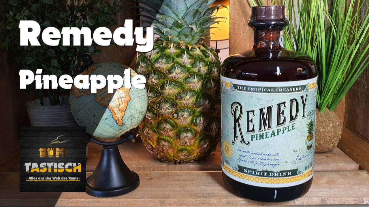 "Remedy Pineapple | Rum-Info & Tasting 🥃 | ""The Tropical Treasure"" 🔊"