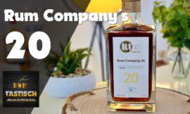 Rum Company 20 | Rum-Tasting 🥃 ECHTER, 20 Jahre alter karibischer Rum (Vlog)