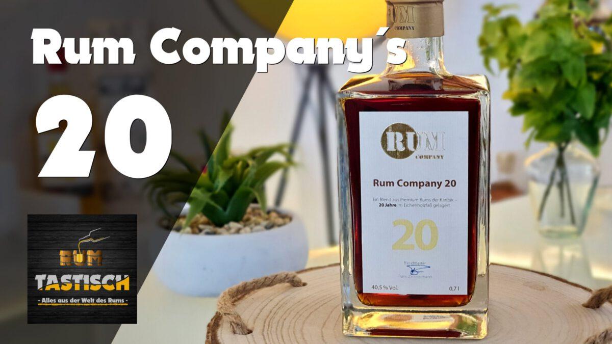 Read more about the article Rum Company 20 | Rum-Tasting 🥃 ECHTER, 20 Jahre alter karibischer Rum (Vlog)