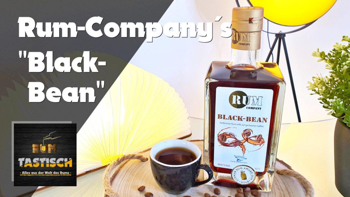 Read more about the article Black Bean (Rum Company) 40,5% | Rum-Tasting 🥃 Kaffee-Rum, Gewinner 2019 Rum Festival Berlin