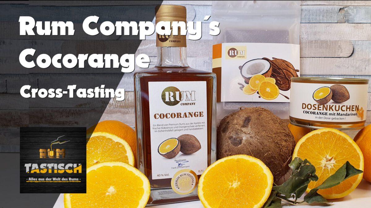 You are currently viewing Cocorange (Rum Company) | Rum-Tasting 🥃 inkl. großem Schoko-& Kuchen-Cross-Tasting