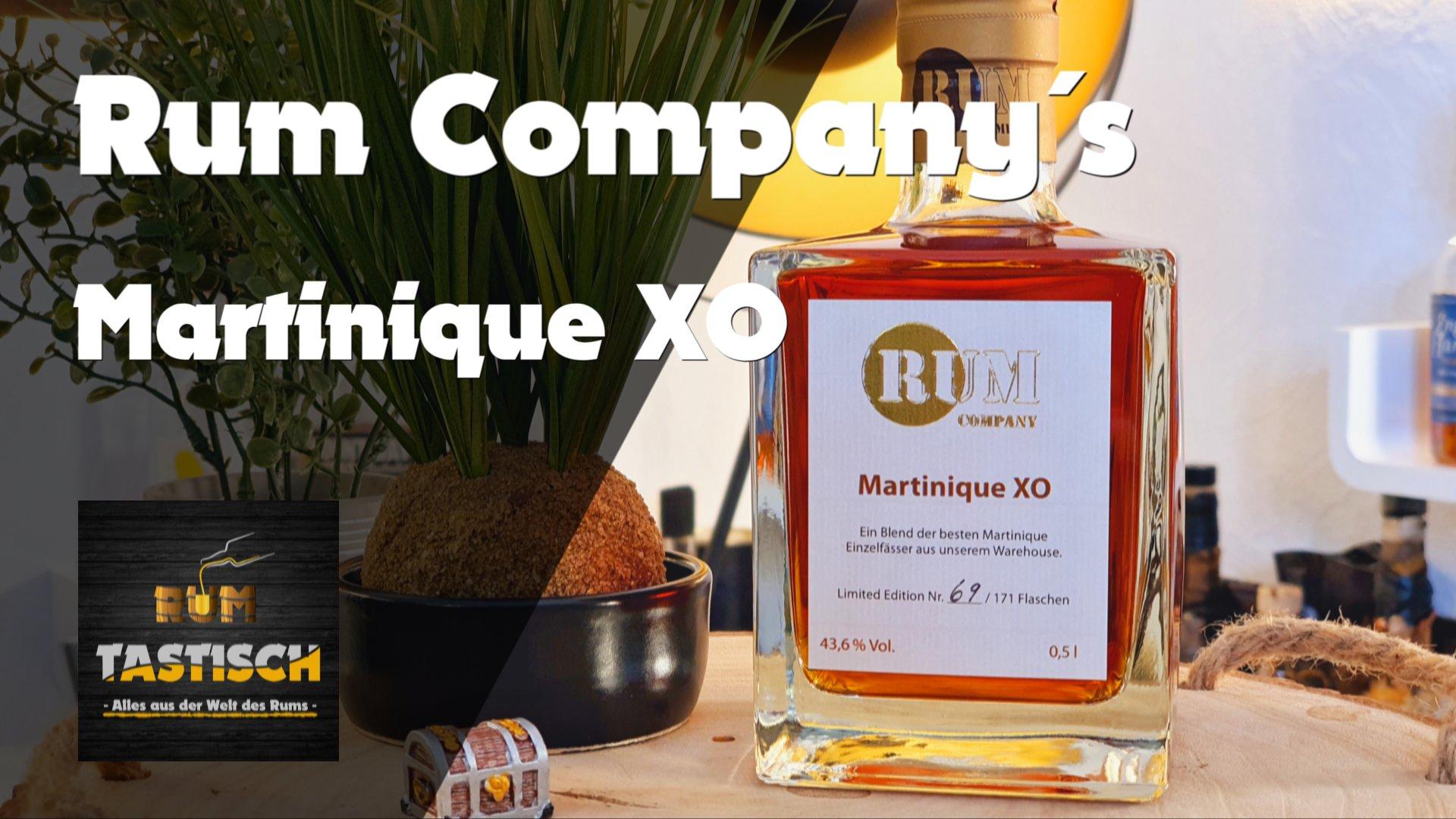 Martinique XO (Rum Company) | Rum-Info & Tasting 🥃 Feinster Rhum Agricole