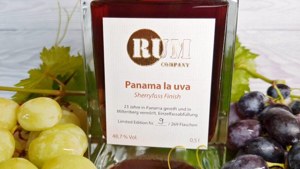 Rum Company Panama la uva Flasche