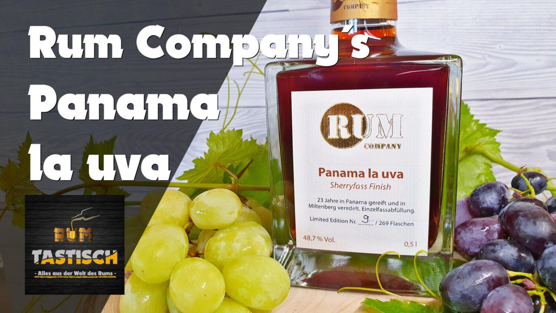 Panama la uva (Rum Company) | Rum-Tasting 🥃 23 Jahre – Limitiert – Mit Sherryfass Finish!