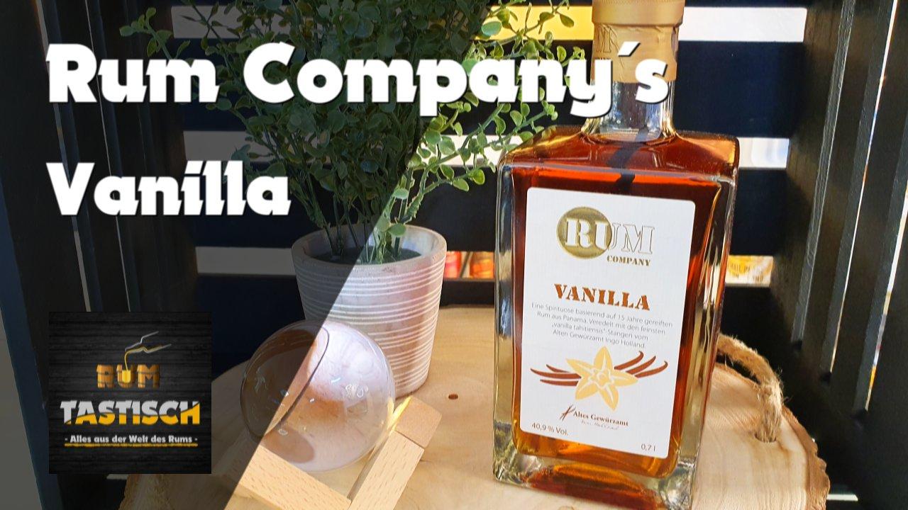 Read more about the article Vanilla (Rum Company) | Rum-Info & Tasting 🥃 Vanilla Tahitiensis meet´s Panama
