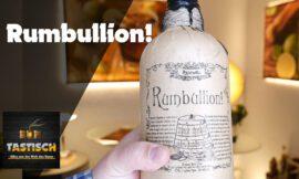 Rumbullion! Rum 42,6% | Rum-Tasting 🥃 Der Rum der alten Seefahrer