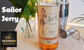 Sailor Jerry 40% | Rum-Tasting 🥃 Memorial-Rum für einen Tattoo-Künstler