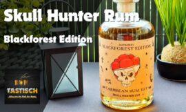 Skull Hunter Rum – Blackforest Edition 40% | Rum-Info & Tasting 🥃 Skull Hunter´s Lady is watching you!