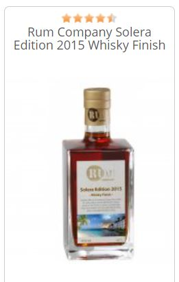 Rum Company Solera 2015 Whisky Finish