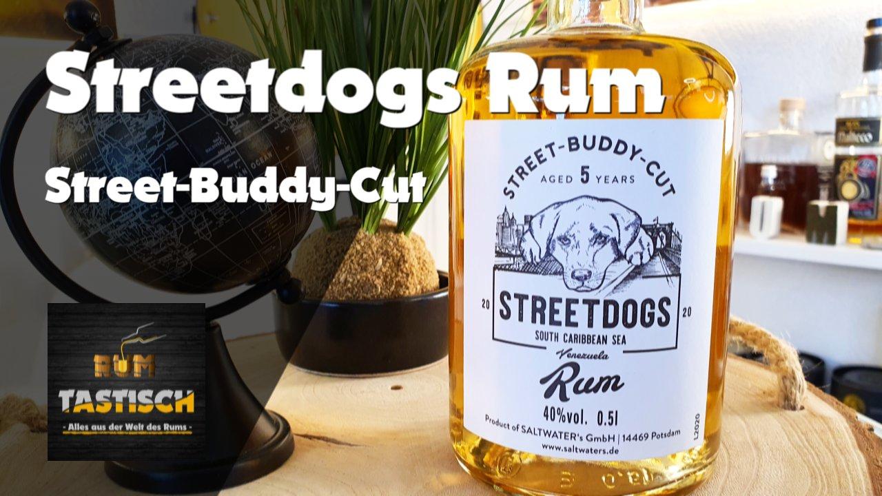 Read more about the article Streetdogs Rum – Street-Buddy-Cut 40% | Rum-Info & Tasting 🥃 Alles für die Spende, alles für den Hund!