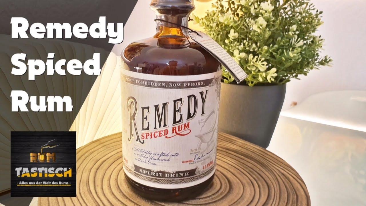 Remedy Spiced Rum | Rum-Tasting 🥃 Dieser Rum sollte apothekenpflichtig sein! 😄