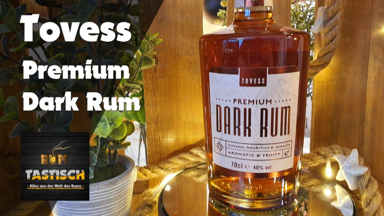 Read more about the article Tovess Premium Dark Rum 40% | Rum-Infos & Tasting 🥃 Wenn Amazon Rum herstellt… 🔊