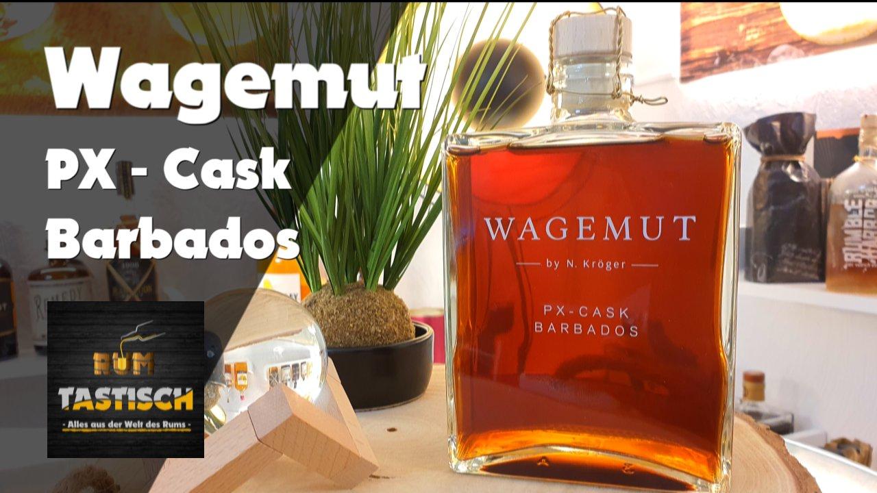 Wagemut PX Cask Barbados (2020) | Rum-Info & Tasting 🥃 Süßes Sherry-Finish ohne Zusätze | feat. N. Kröger 🔊