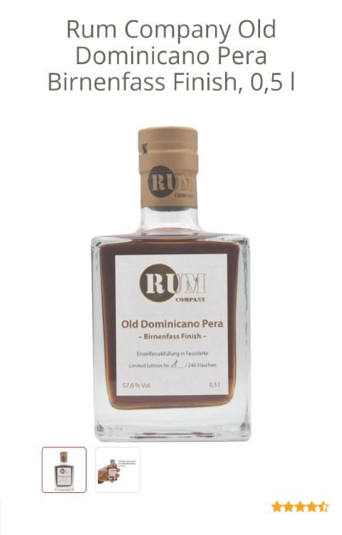 Pera Birnenfass Rum Company